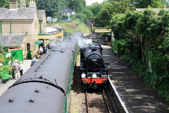 The Watercress Line steam railway